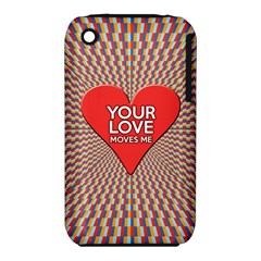 Your Love Moves Me Apple Iphone 3g/3gs Hardshell Case (pc+silicone) by theimagezone