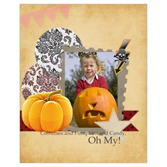 Halloween By Helloween   Drawstring Bag (small)   Aqxwtvby7q3o   Www Artscow Com Front