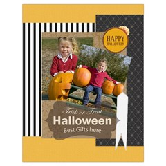 Halloween By Helloween   Drawstring Bag (large)   Ebx7lelazwte   Www Artscow Com Back