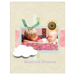 Baby By Baby   Drawstring Bag (large)   0n4mc594mm0k   Www Artscow Com Back