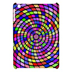 Colorful Whirlpool Apple Ipad Mini Hardshell Case by LalyLauraFLM