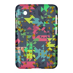 Pastel Scattered Pieces Samsung Galaxy Tab 2 (7 ) P3100 Hardshell Case  by LalyLauraFLM