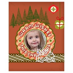 Xmas By Xmas   Drawstring Bag (small)   C6ehsmak7535   Www Artscow Com Back