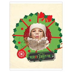 Xmas By Xmas   Drawstring Bag (large)   7np195zt7g9k   Www Artscow Com Front