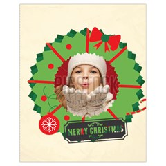 Xmas By Xmas   Drawstring Bag (small)   L127m97auis5   Www Artscow Com Back