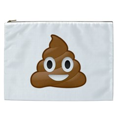 Poop Cosmetic Bag (xxl)  by redcow