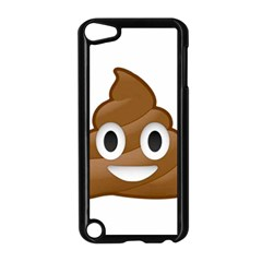 Poop Apple Ipod Touch 5 Case (black) by redcow