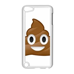Poop Apple Ipod Touch 5 Case (white) by redcow