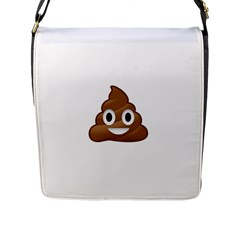 Poop Flap Messenger Bag (l)  by redcow