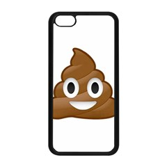 Poop Apple Iphone 5c Seamless Case (black) by redcow