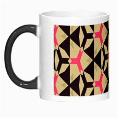 Shapes In Triangles Pattern Morph Mug by LalyLauraFLM