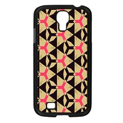 Shapes In Triangles Pattern Samsung Galaxy S4 I9500/ I9505 Case (black) by LalyLauraFLM