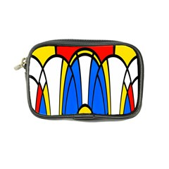 Colorful Distorted Shapes Coin Purse by LalyLauraFLM