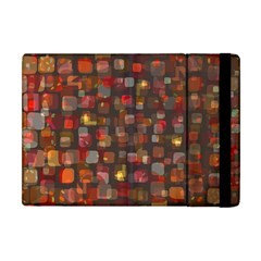 Floating Squares Apple Ipad Mini Flip Case by LalyLauraFLM