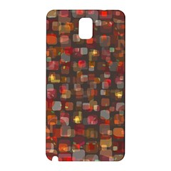 Floating Squares Samsung Galaxy Note 3 N9005 Hardshell Back Case by LalyLauraFLM