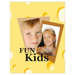 Kids By Kids   Drawstring Bag (large)   Pnzad19vh4fw   Www Artscow Com Back