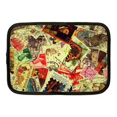 Stamps Netbook Case (medium)  by bonteruko