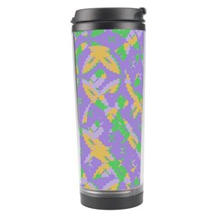 Mixed Shapes Travel Tumbler by LalyLauraFLM