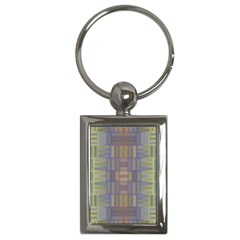 Gradient Rectangles Key Chain (rectangle) by LalyLauraFLM