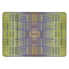 Gradient Rectangles Samsung Galaxy Tab 8 9  P7300 Flip Case by LalyLauraFLM