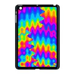 Amazing Acid Rainbow Apple Ipad Mini Case (black) by KirstenStar