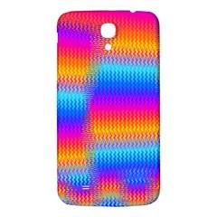 Psychedelic Rainbow Heat Waves Samsung Galaxy Mega I9200 Hardshell Back Case by KirstenStar