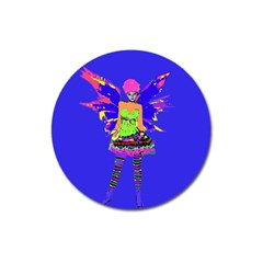 Fairy Punk Magnet 3  (round) by icarusismartdesigns