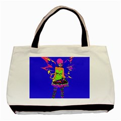 Fairy Punk Basic Tote Bag  by icarusismartdesigns