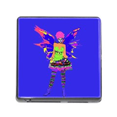 Fairy Punk Memory Card Reader (square) by icarusismartdesigns