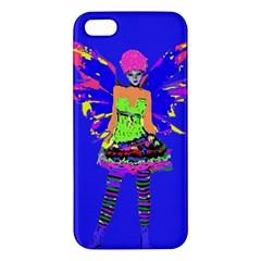 Fairy Punk Iphone 5s Premium Hardshell Case by icarusismartdesigns