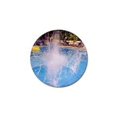 Splash 3 Golf Ball Marker (4 Pack) by icarusismartdesigns