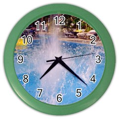 Splash 3 Color Wall Clocks by icarusismartdesigns