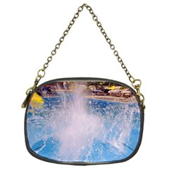 Splash 3 Chain Purses (two Sides)  by icarusismartdesigns