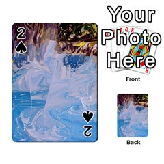 Splash 4 Playing Cards 54 Designs  by icarusismartdesigns