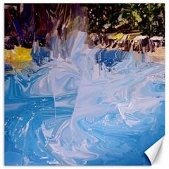 Splash 4 Canvas 16  X 16   by icarusismartdesigns