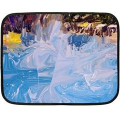 Splash 4 Fleece Blanket (mini) by icarusismartdesigns
