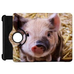 Sweet Piglet Kindle Fire Hd Flip 360 Case by ImpressiveMoments