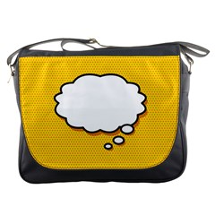 Comic Book Think Messenger Bags by ComicBookPOP