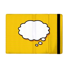 Comic Book Think Ipad Mini 2 Flip Cases by ComicBookPOP