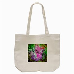 Abstract Music  Tote Bag (cream)  by ImpressiveMoments