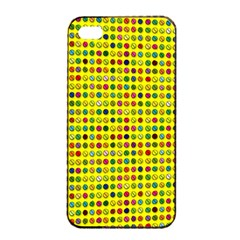 Multi Col Pills Pattern Apple Iphone 4/4s Seamless Case (black) by ScienceGeek