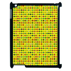 Multi Col Pills Pattern Apple Ipad 2 Case (black) by ScienceGeek