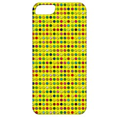 Multi Col Pills Pattern Apple Iphone 5 Classic Hardshell Case by ScienceGeek