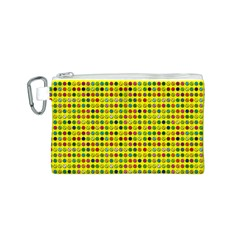 Multi Col Pills Pattern Canvas Cosmetic Bag (s) by ScienceGeek