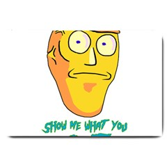 Show Me What You Got New Fresh Large Doormat  by kramcox