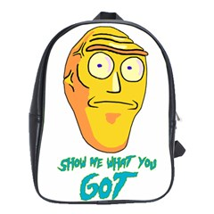 Show Me What You Got New Fresh School Bags (xl)  by kramcox