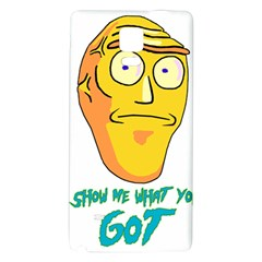 Show Me What You Got New Fresh Galaxy Note 4 Back Case by kramcox