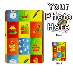 Christmas Things Multi Purpose Cards (rectangle)  by julienicholls