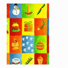 Christmas Things Small Garden Flag (two Sides) by julienicholls