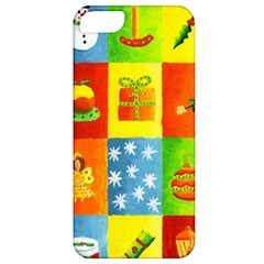 Christmas Things Apple Iphone 5 Classic Hardshell Case by julienicholls